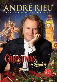 Cover André Rieu And His Johann Strauss Orchestra - Christmas In London [DVD]